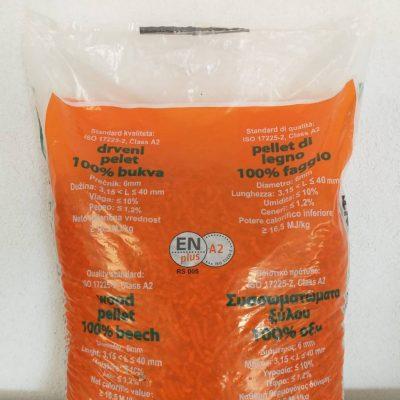 Pelet Bioenergy premium ( 100% bukov) EN PLUS A2